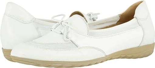 White Nappa/White Patent