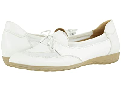 Sesto Meucci Brent (White Nappa/White Patent) Women