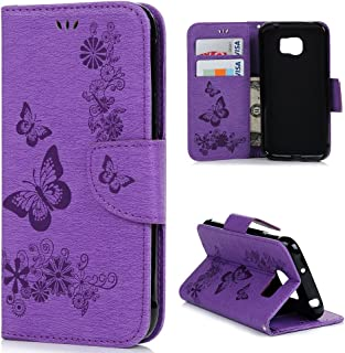 Galaxy S7 Active Wallet Case,MOLLYCOOCLE Retro Veins Design PU Leather Flip Folio Wallet Case with Kickstand Credit Card Holder Slim Shockproof Soft TPU Bumper Wallet Case for Samsung Galaxy S7 Active