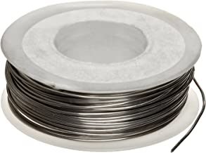 Nickel Chromium Resistance Wire, Bright, 18 AWG, 0.0403