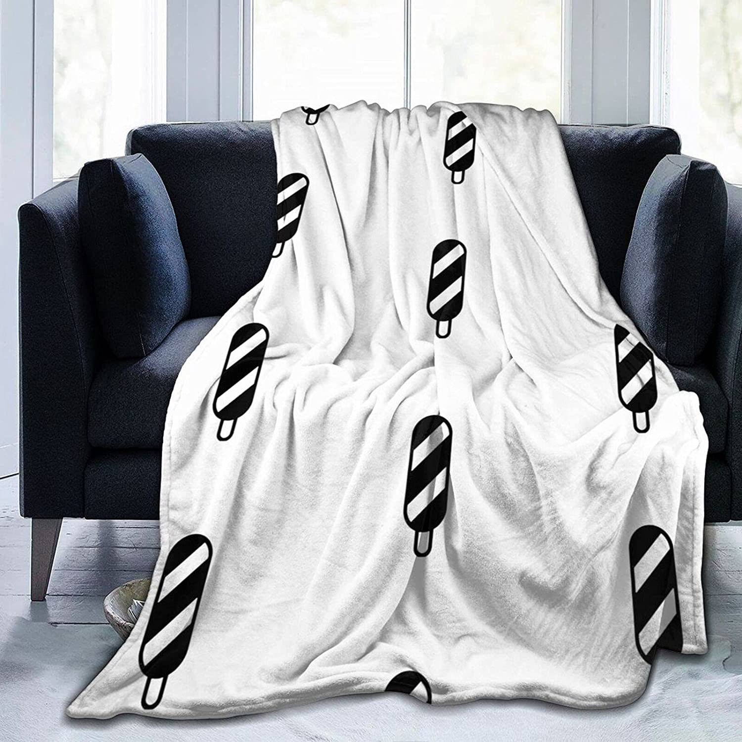 Ice-Cream_19 Branded goods Blanket Soft and Micro Wool Easy-to-use Super Comfortable