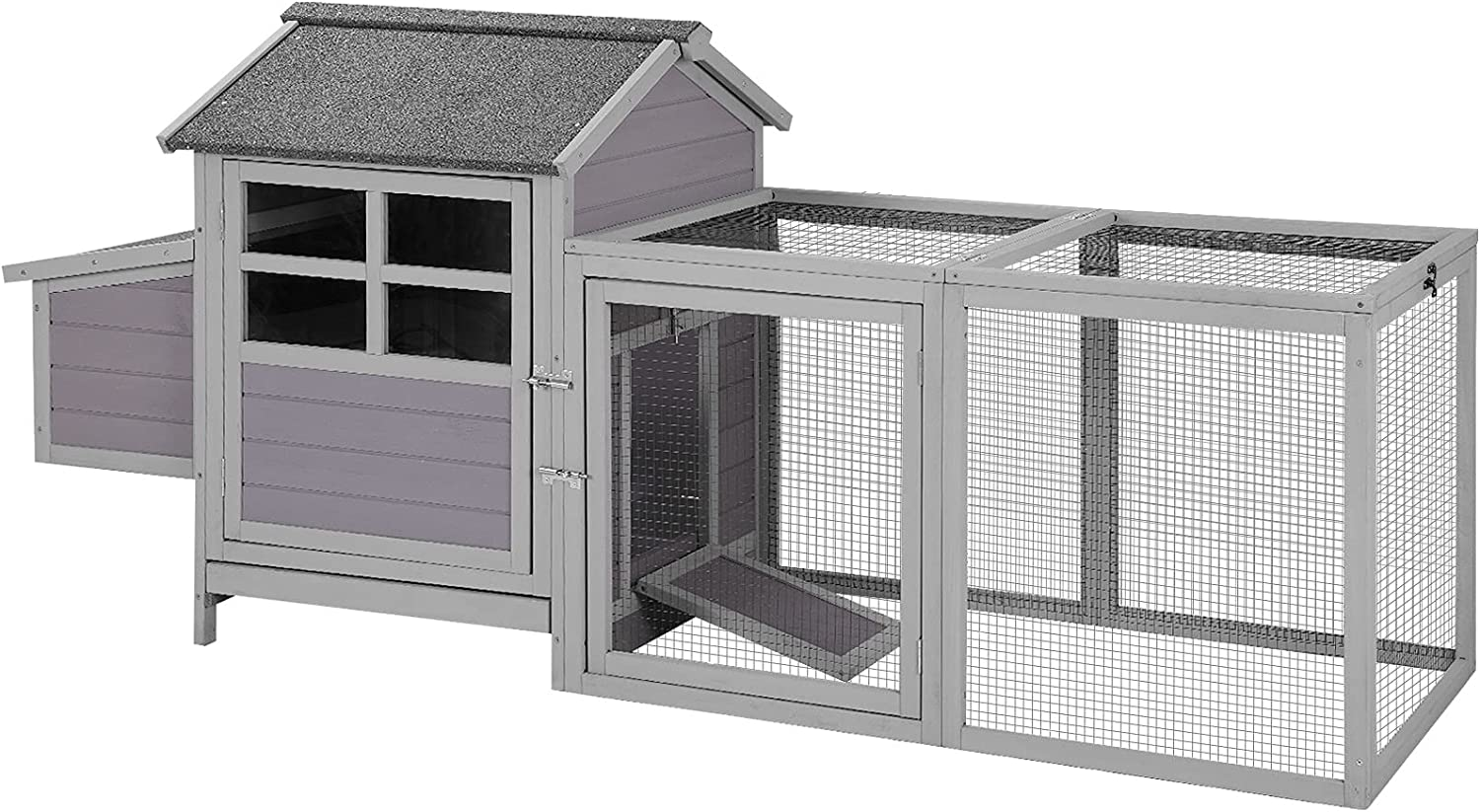 Chicken Product Bombing new work Coop Outdoor Back Yard Hen House Cage Run Poultry with