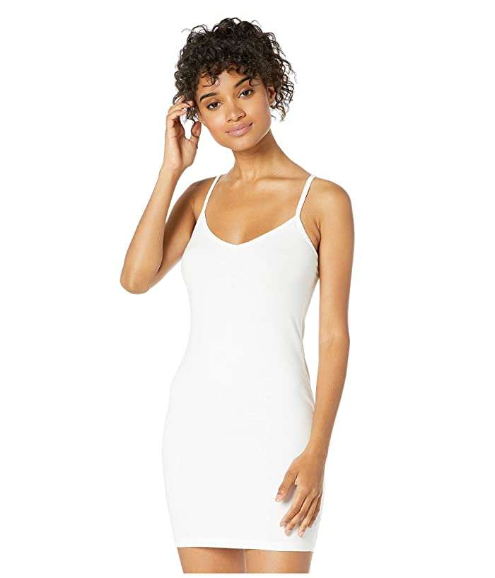 LAmade V-Neck Tank Dress (White) Women's Dress
