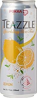 POKKA Teazzle Sparking Lemon Ice Tea, 325ml (Pack of 24)