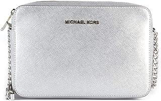 51cb4d0ab7f7 Amazon.com  Michael Kors - Silvers   Handbags   Wallets   Women ...