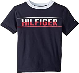 Hilfiger Logo Graphic Tee (Toddler/Little Kids)