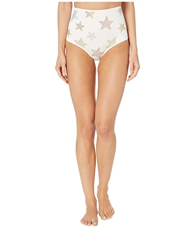 Stella McCartney Studded Stars High-Waist Bikini (Ivory) Women