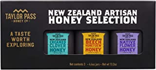 Taylor Pass Honey Co Artisan Honey Selection Gift Box Raw Healthy Delicious New Zealand Honey Non-Gmo