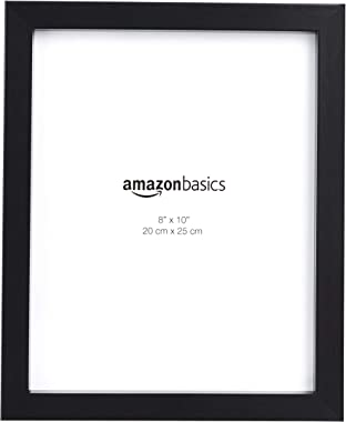 "AmazonBasics Photo Picture Frame - 8"" x 10"", Black - Pack of 2"