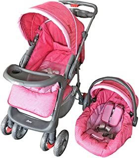 D'Bebe Carriola Travel System Aventura Color Rosa