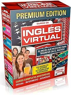 Ingles Virtual Curso de Ingles con Libro de Aprendizaje, 10 DVDs, 3 CDs, Curso de Ciudadania, Curso Online, Mas de 100 Lecciones y Ejercicios - Curso Completo