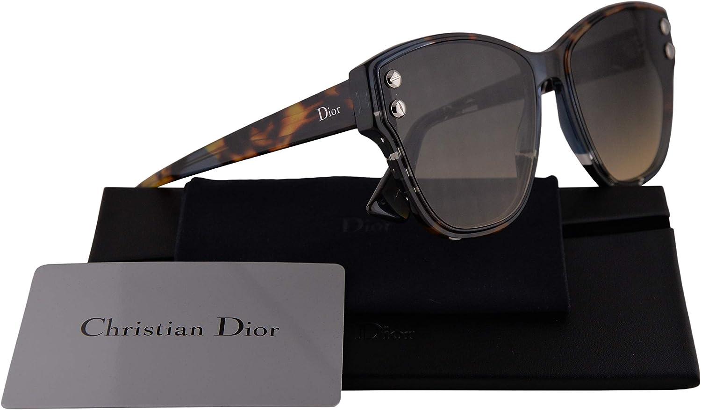 Christian Dior DiorAddict 3 Sunglasses bluee Havana w Black Brown Green Lens JBW86