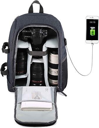 G-raphy Camera Backpack Waterproof for DSLR/SLR Cameras...