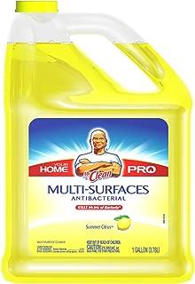 Mr. Clean Multi-Surfaces Summer Citrus Antibacterial Liquid Cleaner, 128-Fluid Ounces Bottles (Pack of 4)