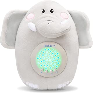 Baby Soother Toys Elephant White Noise Sound Machine, Toddler Sleep Aid Night Light, Unique Baby Girl Gifts & Baby Boy Gif...