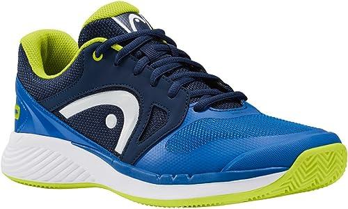 HEAD Hommes Sprint Evo Clay Chaussures De Tennis Chaussure Terre Battue Vert - Bleu 46