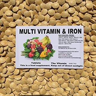 The Vitamin Multivitamin & Iron 365 Tablets - Bagged