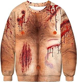 PIZOFF Unisex Hip Hop 3D Digital Printing Hoodie Pullover Sweatshirts
