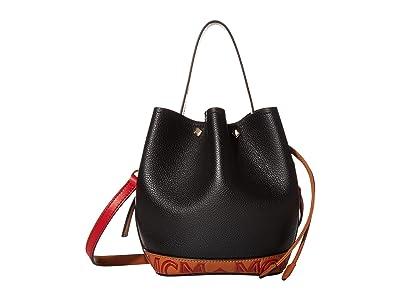 MCM Milano Drawstring Mini (Black) Handbags