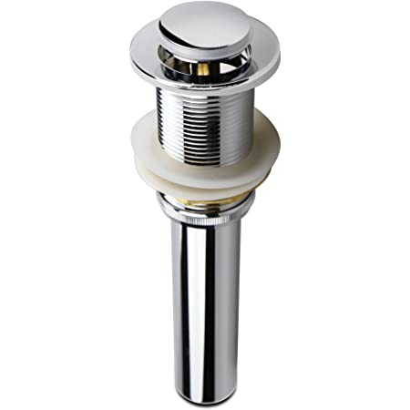 Greenspring 1 5//8 Bathroom Faucet Vessel Vanity Sink Pop up Drain Stopper With Overflow Copper