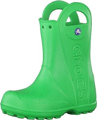 Crocs Handle It Rain Boot, Stivali di Gomma Unisex-Bambini