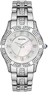 Bulova Women's 31mm Mother of Pearl Crystal Stainless...