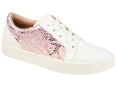 Journee Collection Comfort Foamtm Lynz Sneakers (Pink) Women