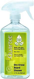 Quartet Dry Erase Board Cleaner Spray, Non-toxic, 17fl.Oz/503ml Whiteboard Cleaning Bottle (550)