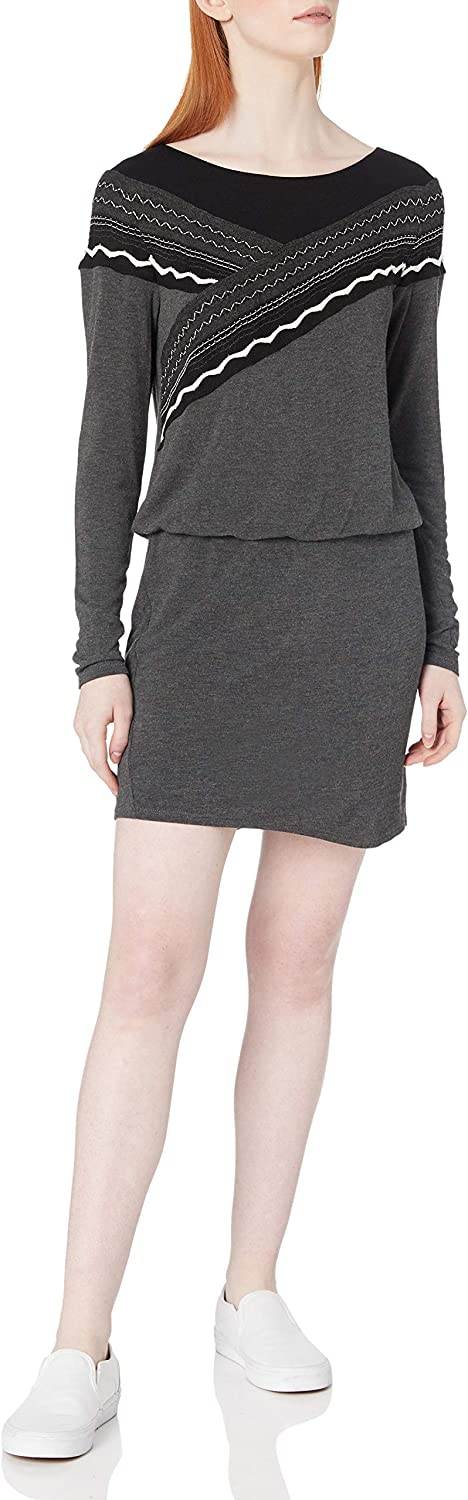 Bailey 44 Women's Long Sleeve, Embroidered Detail, Knee Length