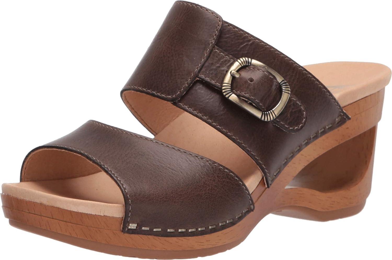 Dansko Women's Ranking TOP17 Tawny Slip-on Sandal Wedge Sale item