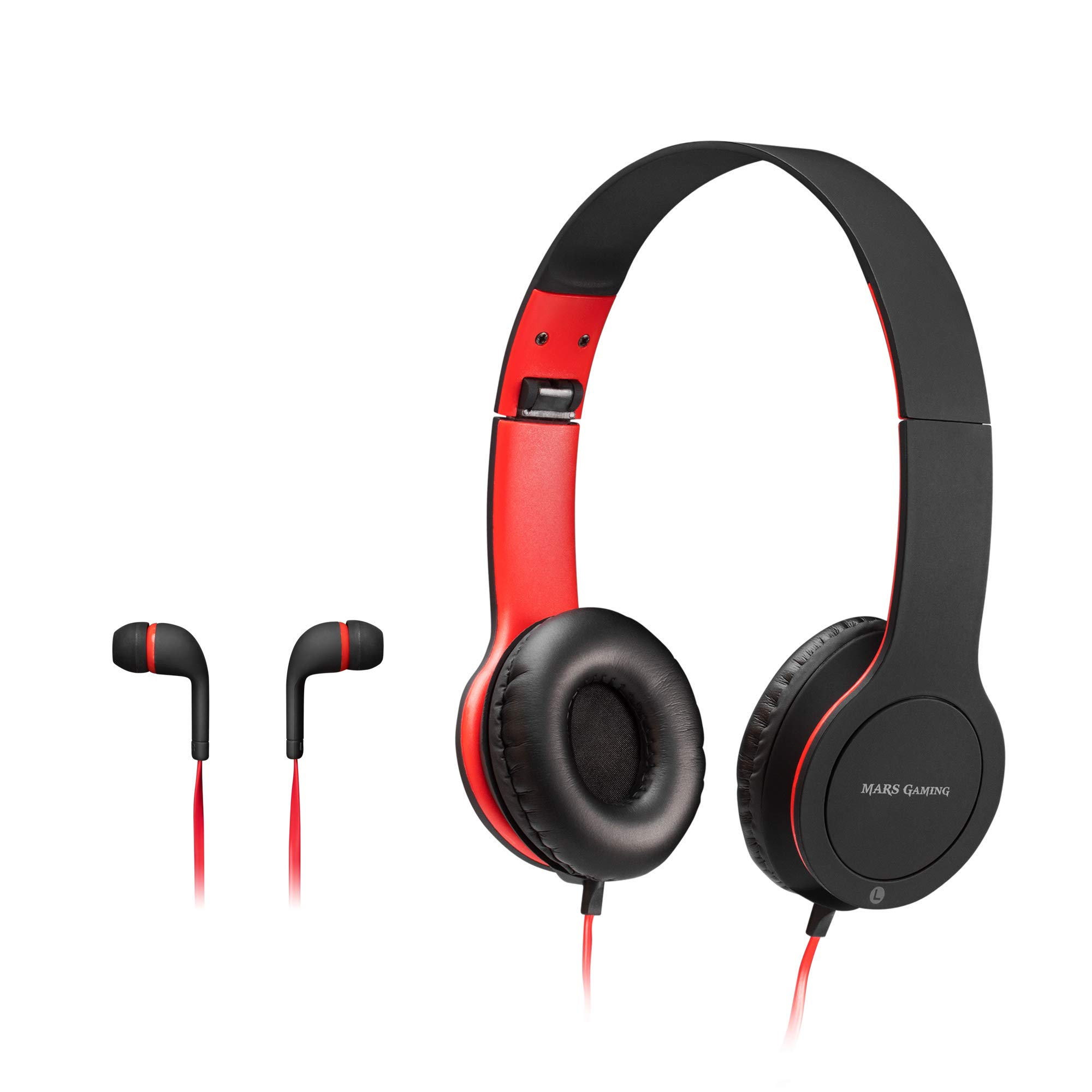 Mars Gaming MHCX, Pack Gamer, Cascos+Auriculares in-Ear, Jack 3.5, Soft Touch: Amazon.es: Electrónica