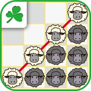 Four sheep in a row LovelySheep  (Kindle Tablet Edition)