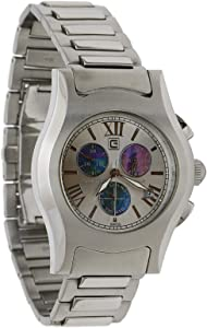Christian Geen Analog Watch For Men - Stainless Steel, Silver - 4808Gls-Wh