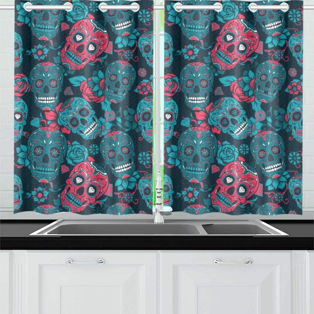 INTERESTPRINT Blackout Kitchen Window Panel Store Treatments price Small Dra