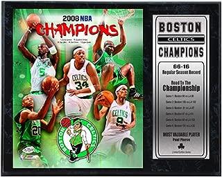 Encore Select 522-03 NBA Boston Celtics 2008 World Champion Limited Edition Photo Plaque