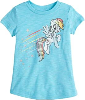 Jumping Beans Little Girls' Toddler 2T-5T My Little Pony Rainbow Dash TEE