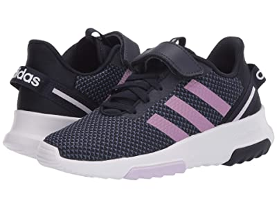 adidas Kids Racer TR 2.0 (Little Kid) (Legend Ink/Cherry Metallic/Purple Tint) Girls Shoes