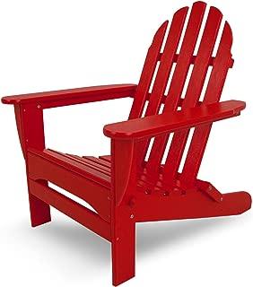 POLYWOOD AD5030SR Classic Folding Adirondack Chair, 38.5