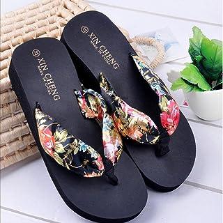 d67f50f8cf8 Amazon.com  Floral Flat Sandals