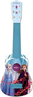 Disney Largo, Juguete niña a Partir de 3 años K200FZ Lexibook Frozen 2 Elsa Anna Olaf Mi Primera Guitarra para niñas, 6 Cu...