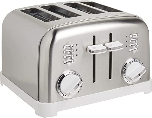 lowest Cuisinart CPT-180WP1 Metal 2021 Classic 4-Slice 2021 toaster, White online sale