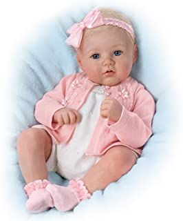 Ashton Drake Marissa May Poseable and Weighted Lifelike 18 Inch Baby Girl Doll by The Ashton-Drake Galleries