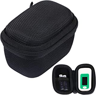 Hard Storage Case Bag for Fingertip Pulse Oximeter fits for Zacurate/Innovo Deluxe/Santamedical/Concord Sapphire Blood Oxy...