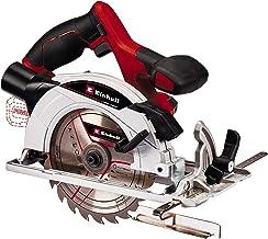 Einhell 4331207 Sierra circular inalámbrica TE-CS 18/165-1 Li - Solo Power X-Change (mesa de sierra fabricada en aluminio, ajuste sencillo y sin herramientas, se entrega sin Batería ni cargado)