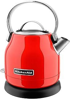 KitchenAid KEK1222HT Electric Kettle, 1.25 L, Hot Sauce (Renewed)