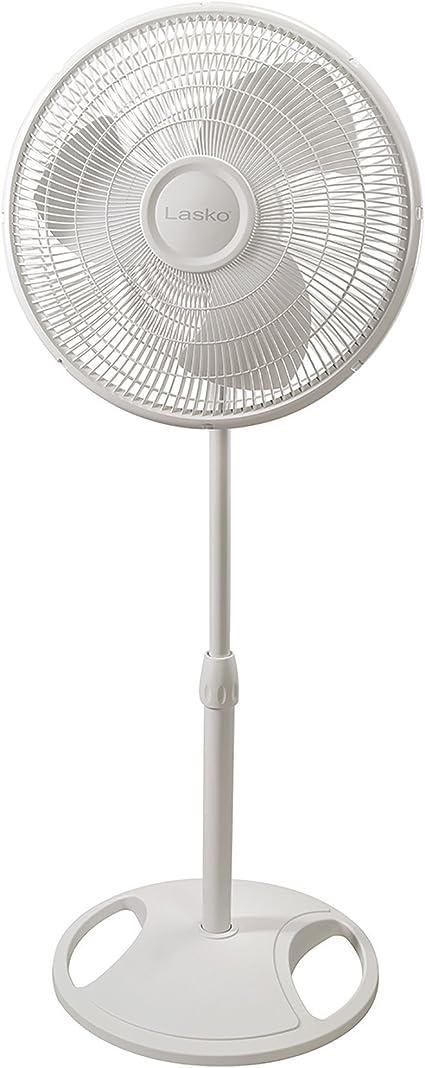 Lasko 16 Oscillating Stand Fan White 1 2520 Amazon Ca Home Kitchen