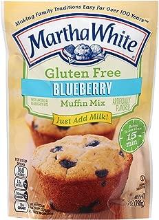 Martha White Gluten Free Blueberry Muffin Mix 7 oz (Pack of 6)
