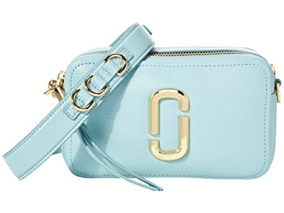 Marc Jacobs The Softshot 21 (Silent Blue) Handbags