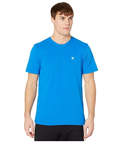 Hurley Dri-Fit Staple Icon Reflective Short Sleeve Tee (Soar) Men