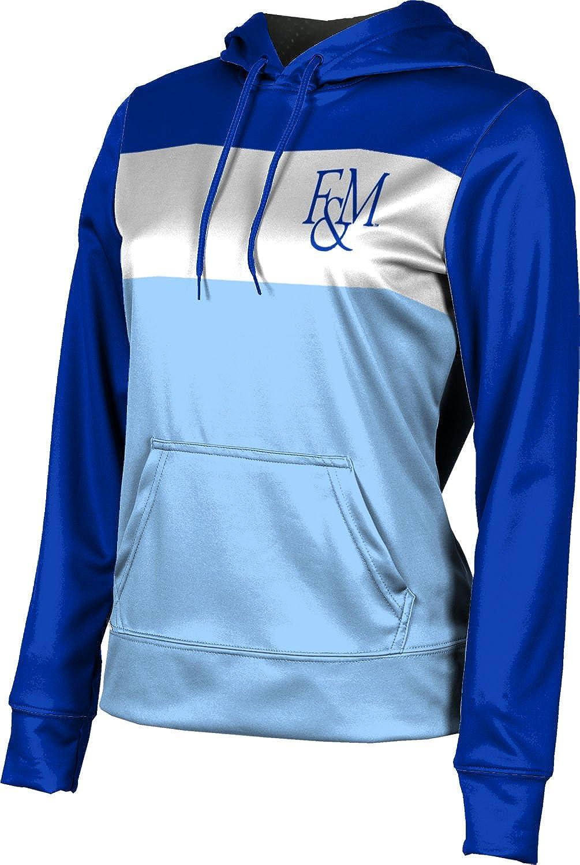 Franklin & Marshall College Girls' Pullover Hoodie, School Spirit Sweatshirt (Prime)